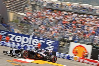 © Octane Photographic Ltd. 2012. F1 Monte Carlo - Qualifying - Session 2. Saturday 26th May 2012. Pastor Maldonado - Williams. Digital Ref : 0355cb7d8981