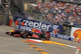© Octane Photographic Ltd. 2012. F1 Monte Carlo - Qualifying - Session 2. Saturday 26th May 2012. Sebastian Vettel. Digital Ref : 0355cb7d8987