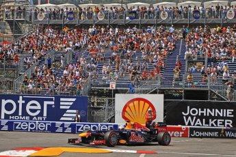 © Octane Photographic Ltd. 2012. F1 Monte Carlo - Qualifying - Session 2. Saturday 26th May 2012. Sebastian Vettel - Red Bull. Digital Ref : 0355cb7d9013
