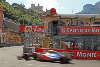 © Octane Photographic Ltd. 2012. F1 Monte Carlo - Qualifying - Session 3. Saturday 26th May 2012. Lewis Hamilton - McLaren. Digital Ref : 0355cb7d9046