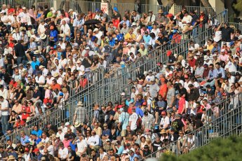 © Octane Photographic Ltd. 2012. F1 Monte Carlo - Practice 1. Thursday  24th May 2012. The crowd gather ready for the start of the Formula 1 action at Monaco this weekend. Digital Ref : 0350cb1d0070