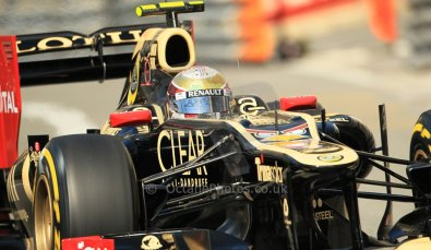 © Octane Photographic Ltd. 2012. F1 Monte Carlo - Practice 1. Thursday  24th May 2012. Romain Grosjean - Lotus. Digital Ref : 0350cb1d0159