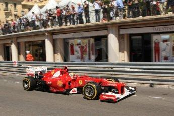 © Octane Photographic Ltd. 2012. F1 Monte Carlo - Practice 1. Thursday  24th May 2012. Fernando Alonso - Ferrari. Digital Ref : 0350cb7d7486