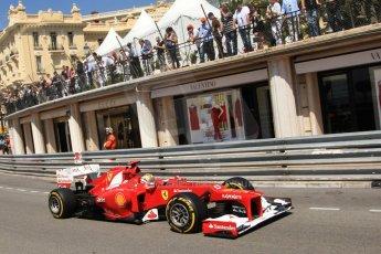 © Octane Photographic Ltd. 2012. F1 Monte Carlo - Practice 1. Thursday  24th May 2012. Fernando Alonso - Ferrari. Digital Ref : 0350cb7d7518