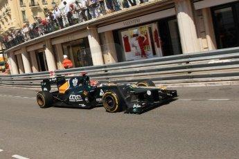 © Octane Photographic Ltd. 2012. F1 Monte Carlo - Practice 1. Thursday  24th May 2012. Heikki Kovalainen - Caterham. Digital Ref : 0350cb7d7538