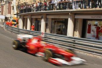 © Octane Photographic Ltd. 2012. F1 Monte Carlo - Practice 1. Thursday  24th May 2012. Fernando Alonso - Ferrari. Digital Ref : 0350cb7d7592