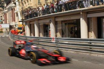 © Octane Photographic Ltd. 2012. F1 Monte Carlo - Practice 1. Thursday  24th May 2012. Jenson Button - McLaren. Digital Ref : 0350cb7d7593