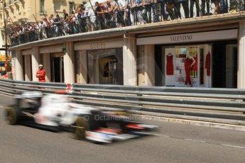 © Octane Photographic Ltd. 2012. F1 Monte Carlo - Practice 1. Thursday  24th May 2012. Kamui Kobayashi - Sauber. Digital Ref : 0350cb7d7602