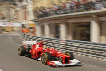 © Octane Photographic Ltd. 2012. F1 Monte Carlo - Practice 1. Thursday  24th May 2012. Fernando Alonso - Ferrari. Digital Ref : 0350cb7d7622