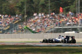 © 2012 Octane Photographic Ltd. Italian GP Monza - Friday 7th September 2012 - F1 Practice 1. Williams FW34 - Pastor Maldonado. Digital Ref : 0505lw1d9159