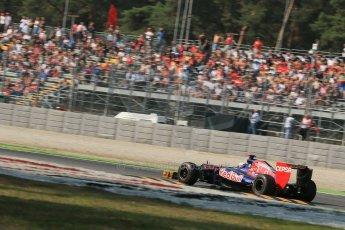 © 2012 Octane Photographic Ltd. Italian GP Monza - Friday 7th September 2012 - F1 Practice 1. Toro Rosso STR7 - Daniel Ricciardo. Digital Ref : 0505lw1d9180