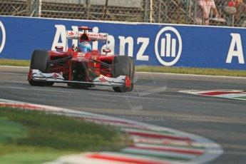 © 2012 Octane Photographic Ltd. Italian GP Monza - Friday 7th September 2012 - F1 Practice 1. Ferrari F2012 - Fernando Alonso. Digital Ref : 0505lw7d5393