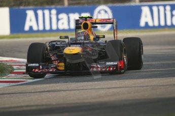 © 2012 Octane Photographic Ltd. Italian GP Monza - Friday 7th September 2012 - F1 Practice 1. Red Bull RB8 - Mark Webber. Digital Ref : 0505lw7d5930