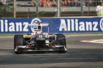 © 2012 Octane Photographic Ltd. Italian GP Monza - Friday 7th September 2012 - F1 Practice 1. Sauber C31 - Kamui Kobayashi. Digital Ref : 0505lw7d6261