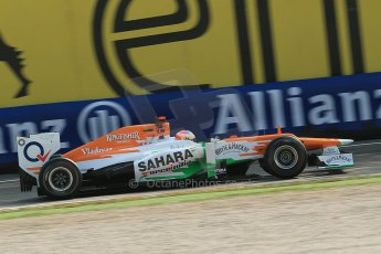 © 2012 Octane Photographic Ltd. Italian GP Monza - Saturday 8th September 2012 - F1 Practice 3. Force India VJM05 - Paul di Resta. Digital Ref : 0512lw1d1082