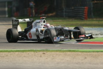 © 2012 Octane Photographic Ltd. Italian GP Monza - Saturday 8th September 2012 - F1 Practice 3. Sauber C31 - Kamui Kobayashi. Digital Ref :