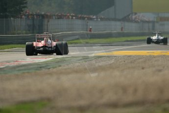 © 2012 Octane Photographic Ltd. Italian GP Monza - Saturday 8th September 2012 - F1 Practice 3. Ferrari F2012 - Fernando Alonso. Digital Ref : 0512lw1d1567