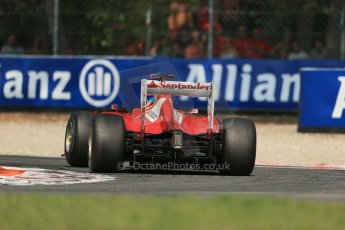 World © Octane Photographic Ltd. Formula 1 Italian GP, 9th September 2012.  Ferrari F2012 - Fernando Alonso. Digital Ref : 0518lw1d0200