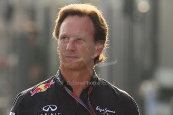 © 2012 Octane Photographic Ltd. Italian GP Monza - Saturday 8th September 2012 - F1 Paddock. Christian Horner - Red Bull. Digital Ref :
