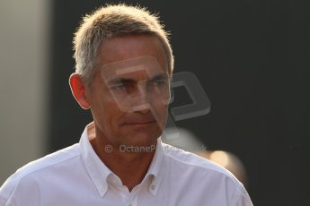 © 2012 Octane Photographic Ltd. Italian GP Monza - Saturday 8th September 2012 - F1 Paddock. Martin Whitmarsh. Digital Ref :