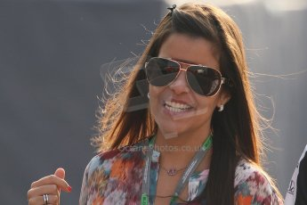 © 2012 Octane Photographic Ltd. Italian GP Monza - Saturday 8th September 2012 - F1 PaddockPastor Maldonado's (Williams) girlfriend Gabriella Tarkany. Digital Ref :