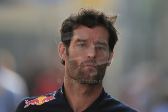 World © Octane Photographic Ltd. Formula 1 Italian GP, F1 Paddock. 9th September 2012 - Mark Webber - Red Bull. Digital Ref : 0517lw1d8855