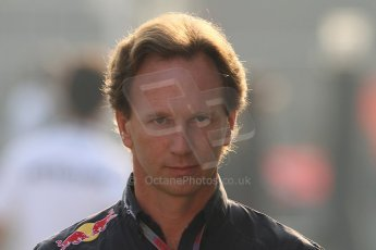 World © Octane Photographic Ltd. Formula 1 Italian GP, F1 Paddock. 9th September 2012. Christian Horner - Red Bull. Digital Ref : 0517lw7d8559