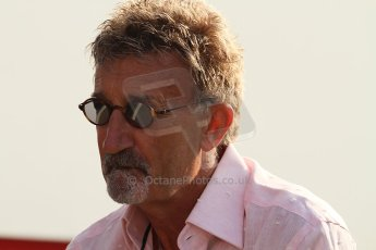 World © Octane Photographic Ltd. Formula 1 Italian GP, F1 Paddock. 9th September 2012.  Eddie Jordan - BBC F1. Digital Ref : 0517lw7d8753