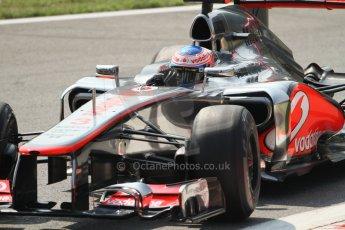 © 2012 Octane Photographic Ltd. Italian GP Monza - Friday 7th September 2012 - F1 Practice 2. McLaren MP4/27 - Jenson Button. Digital Ref :