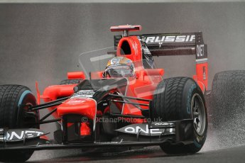© 2012 Octane Photographic Ltd. Belgian GP Spa - Friday 31st August 2012 - F1 Practice 1. Marussia MR01 - Timo Glock. Digital Ref : 0481lw7d2281