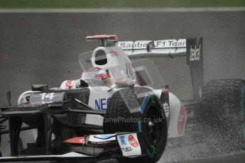 © 2012 Octane Photographic Ltd. Belgian GP Spa - Friday 31st August 2012 - F1 Practice 1. Sauber C31 - Kamui Kobayashi. Digital Ref : 0481lw7d2310