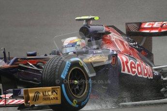 © 2012 Octane Photographic Ltd. Belgian GP Spa - Friday 31st August 2012 - F1 Practice 1. Toro Rosso STR7 - Jean-Eric Vergne. Digital Ref : 0481lw7d2333