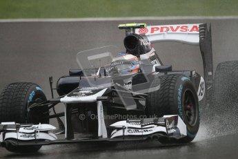 © 2012 Octane Photographic Ltd. Belgian GP Spa - Friday 31st August 2012 - F1 Practice 1. Williams FW34 - Valtteri Bottas. Digital Ref : 0481lw7d2516