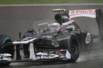 © 2012 Octane Photographic Ltd. Belgian GP Spa - Friday 31st August 2012 - F1 Practice 1. Williams FW34 - Valtteri Bottas. Digital Ref : 0481lw7d2517
