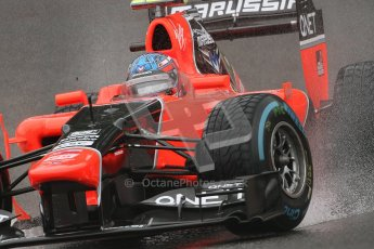 © 2012 Octane Photographic Ltd. Belgian GP Spa - Friday 31st August 2012 - F1 Practice 1. Marussia MR01 - Charles Pic. Digital Ref : 0481lw7d2639