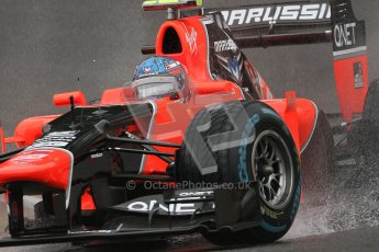 © 2012 Octane Photographic Ltd. Belgian GP Spa - Friday 31st August 2012 - F1 Practice 1. Marussia MR01 - Charles Pic. Digital Ref : 0481lw7d2916