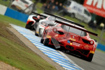 © Chris Enion/Octane Photographic Ltd 2012. FIA GT1 Championship, Donington Park, Sunday 30th September 2012. Digital Ref : 0533ce7d0758
