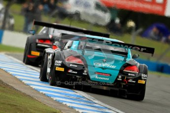 © Chris Enion/Octane Photographic Ltd 2012. FIA GT1 Championship, Donington Park, Sunday 30th September 2012. Digital Ref : 0533ce7d0762