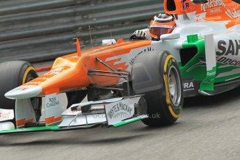 © Octane Photographic Ltd. 2012. F1 Monte Carlo - Practice 2. Thursday 24th May 2012. Nico Hulkenberg - Force India. Digital Ref : 0352cb1d5772