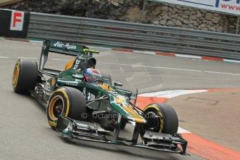© Octane Photographic Ltd. 2012. F1 Monte Carlo - Practice 2. Thursday 24th May 2012. Vitaly Petrov - Caterham. Digital Ref : 0352cb1d5861