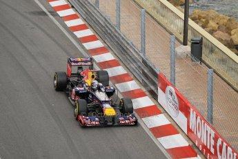 © Octane Photographic Ltd. 2012. F1 Monte Carlo - Practice 2. Thursday 24th May 2012. Sebastian Vettel - Red Bull. Digital Ref : 0352cb1d5926