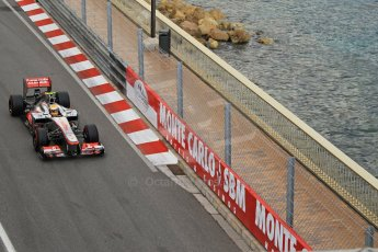 © Octane Photographic Ltd. 2012. F1 Monte Carlo - Practice 2. Thursday 24th May 2012. Lewis Hamilton - McLaren. Digital Ref : 0352cb1d5961