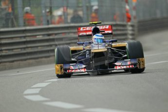 © Octane Photographic Ltd. 2012. F1 Monte Carlo - Practice 2. Thursday 24th May 2012. Jean-Eric Vergne - Toro Rosso. Digital Ref : 0352cb1d6052