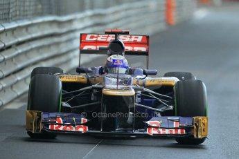 © Octane Photographic Ltd. 2012. F1 Monte Carlo - Practice 2. Thursday 24th May 2012. Daniel Ricciardo - Toro Rosso. Digital Ref : 0352cb1d6085