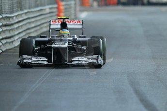 © Octane Photographic Ltd. 2012. F1 Monte Carlo - Practice 2. Thursday 24th May 2012. Bruno Senna - Williams. Digital Ref : 0352cb1d6092