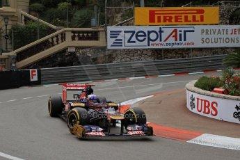 © Octane Photographic Ltd. 2012. F1 Monte Carlo - Practice 2. Thursday 24th May 2012. Daniel Ricciardo - Toro Rosso. Digital Ref : 0352cb7d8032