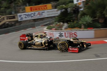 © Octane Photographic Ltd. 2012. F1 Monte Carlo - Practice 2. Thursday 24th May 2012. Kimi Raikkonen -  Lotus. Digital Ref : 0352cb7d8051
