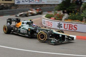 © Octane Photographic Ltd. 2012. F1 Monte Carlo - Practice 2. Thursday 24th May 2012. Vitaly Petrov - Caterham. Digital Ref : 0352cb7d8125