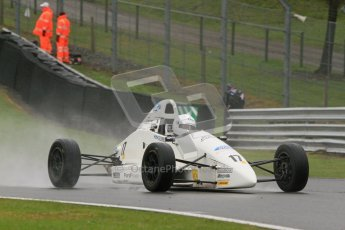 © 2012 Octane Photographic Ltd. Monday 9th April. Formula Ford - Race 2 . George Blundell - Mygale SJ10.  Digital Ref : 0287lw7d4274