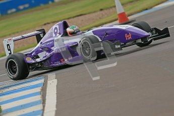 © Octane Photographic Ltd. 2012. Donington Park. Saturday 18th August 2012. Formula Renault BARC Qualifying session. Josh Webster - MGR Motorsport. Digital Ref : 0460cb1d2585